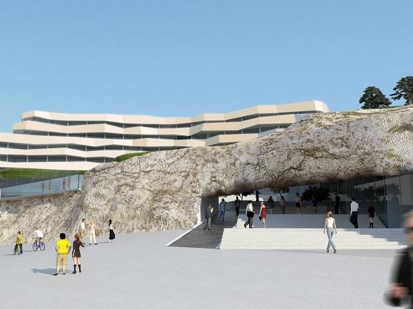 mandalina resort, touristic resort, šibenik, croatia, architecture, arhitektura, natječaj,