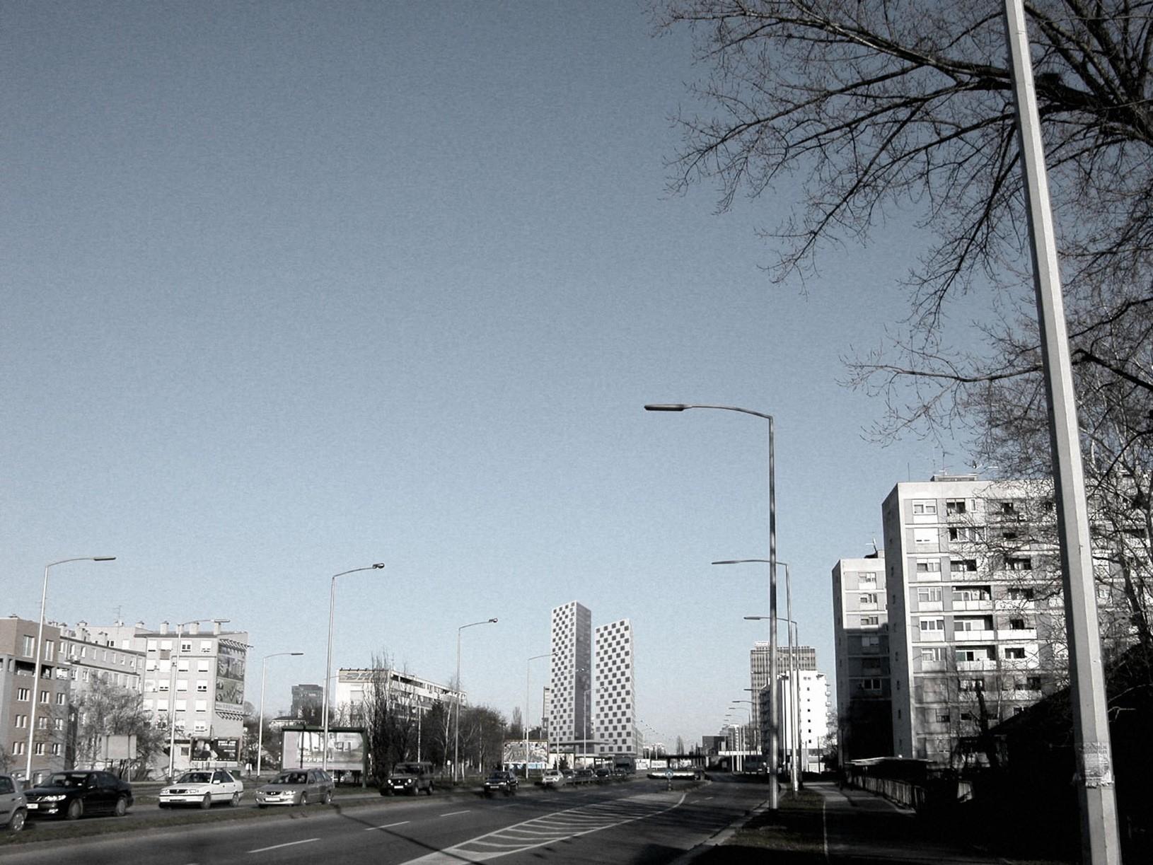 Savska, poslovni toranj, UPI-2M