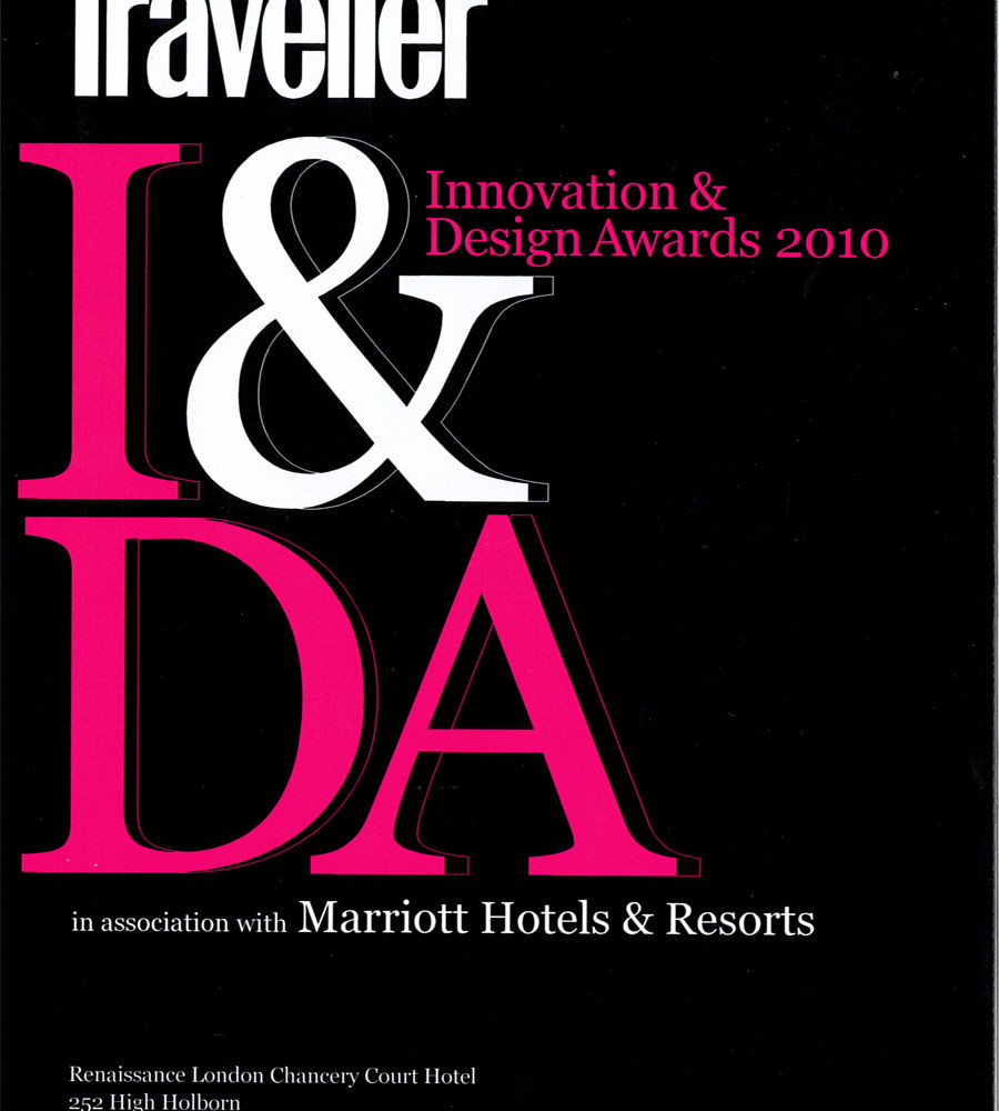 CN TRAVELLER: INNOVATION & DESIGN AWARDS