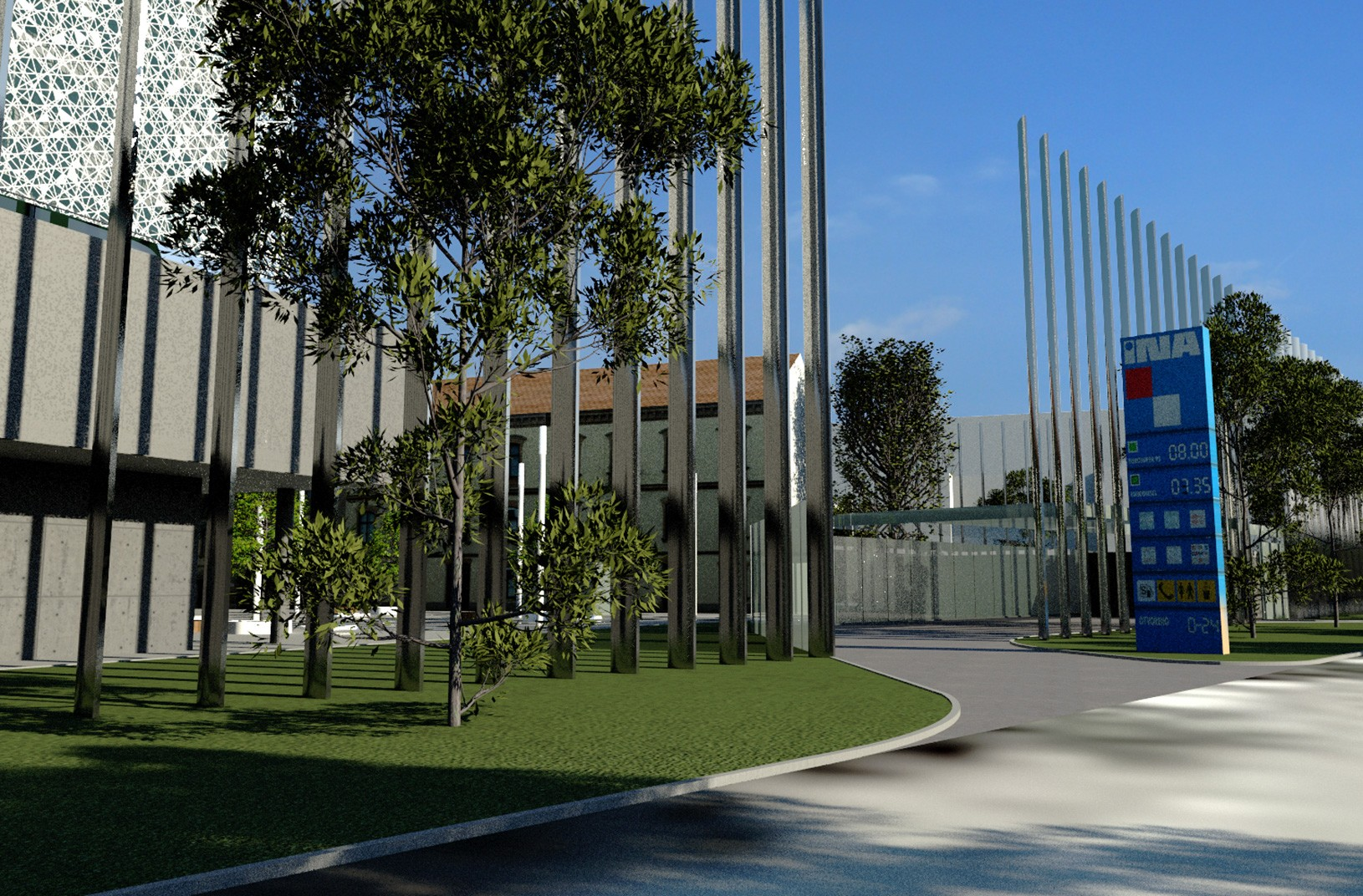 Poslovna zgrada Adris grupa, UPI-2M