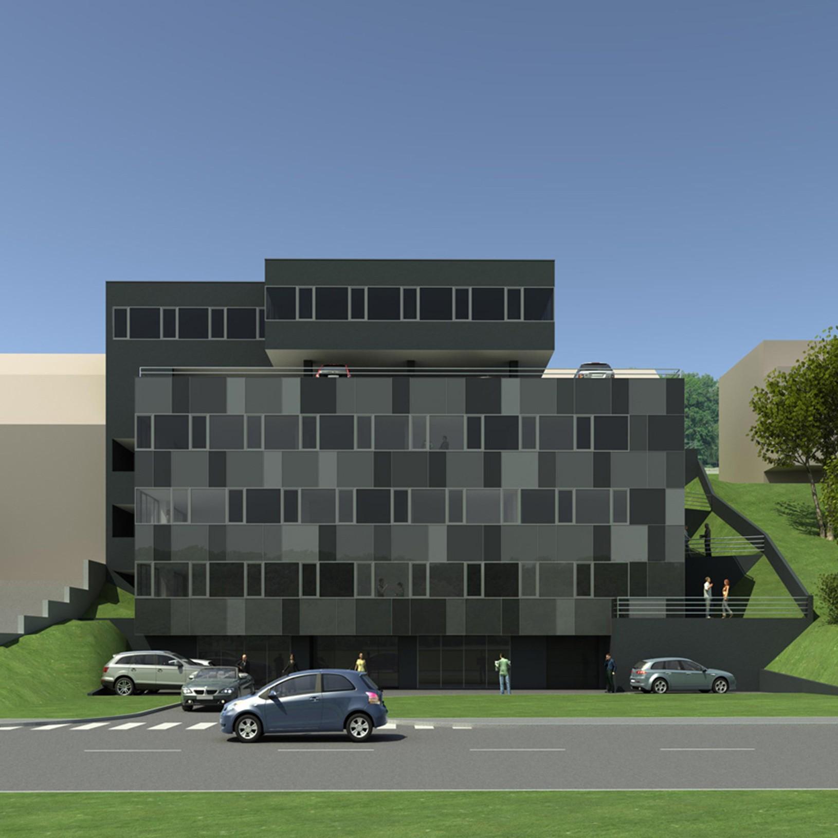 Poslovna građevina K, UPI-2M