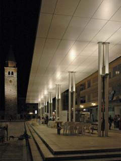 Središnji gradski trg u Umagu, nagrada, UPI-2M, UMAG, HRVATSKA