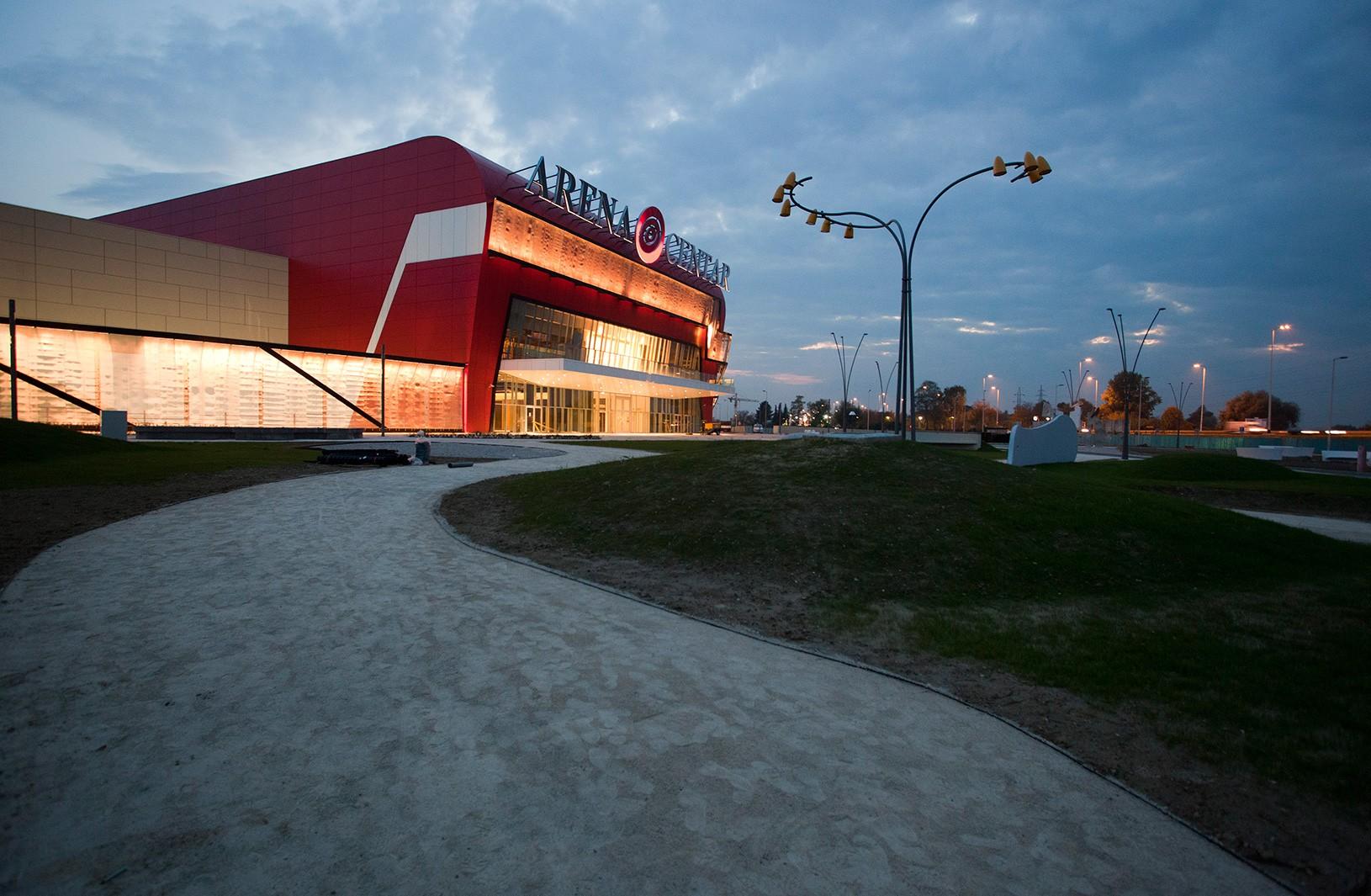 Arena Centar, UPI-2M