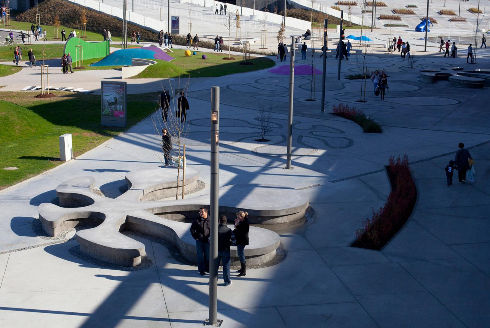 Arena Centar Lanište, UPI-2M, arhitektura, architecture, shopping mall, trgovački centar, urbanizam, urban planning
