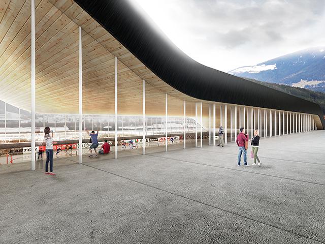 ice hockey arena, ice hokey arena, ice, hokey, arena, ice hokey, hokey arena, ice hokey arena, arena, upi-2m, brunico, italija, italy, architecture, arhitektura