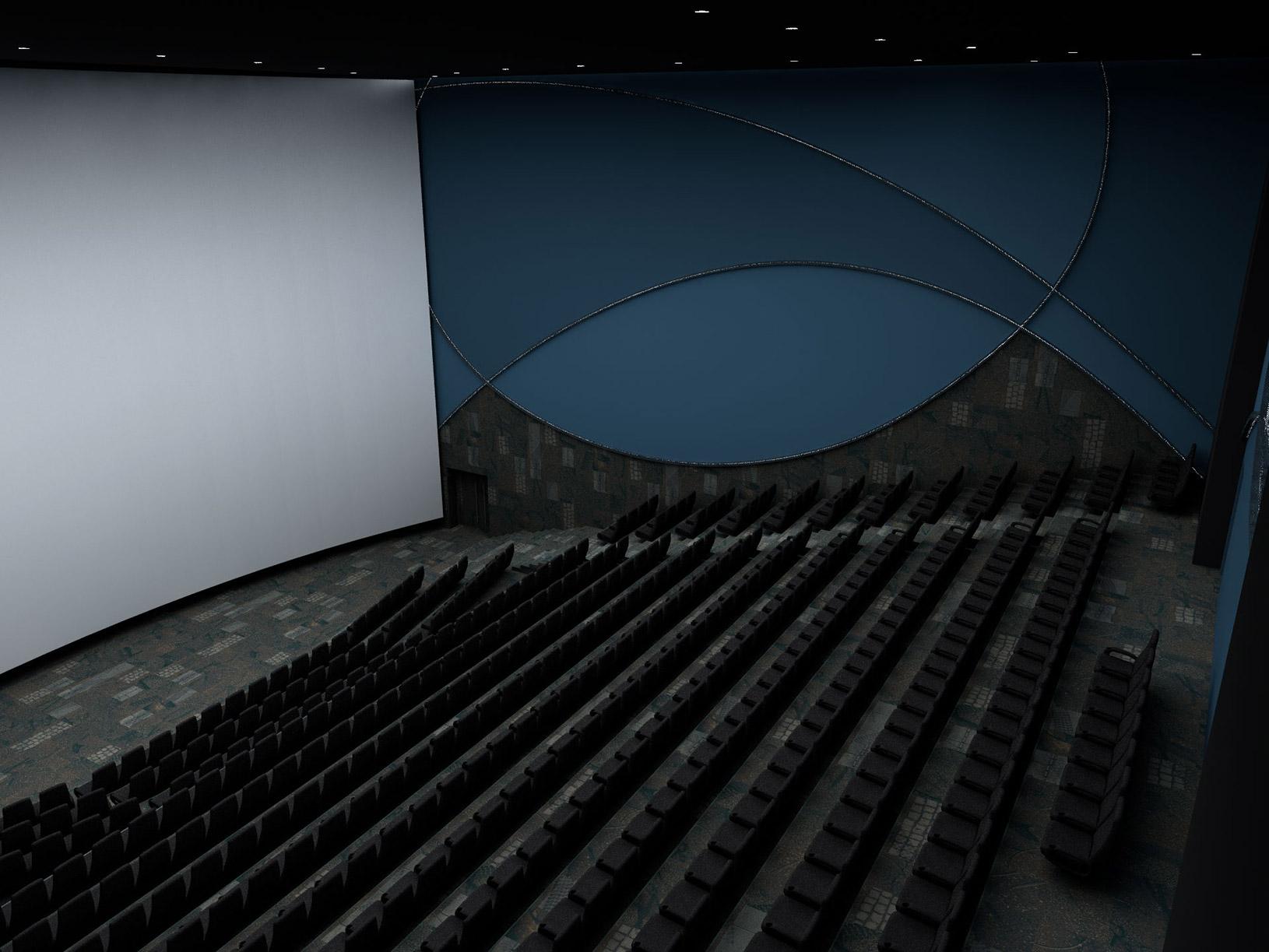 IMAX Arena kino dvorana, UPI-2M