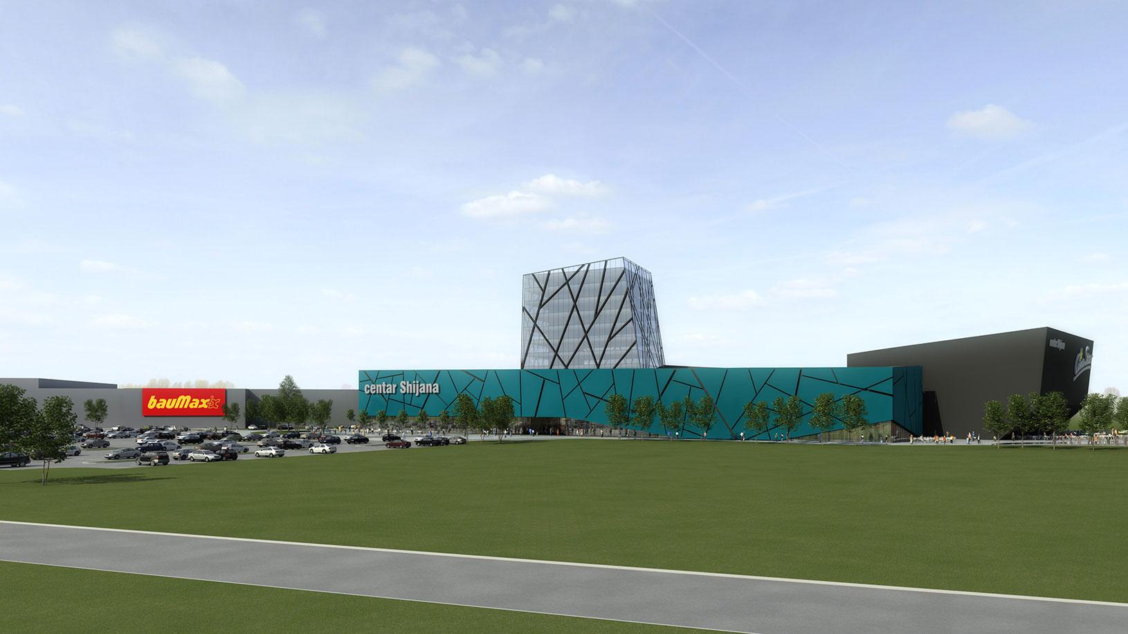 Shijana trgovački centar, UPI-2M