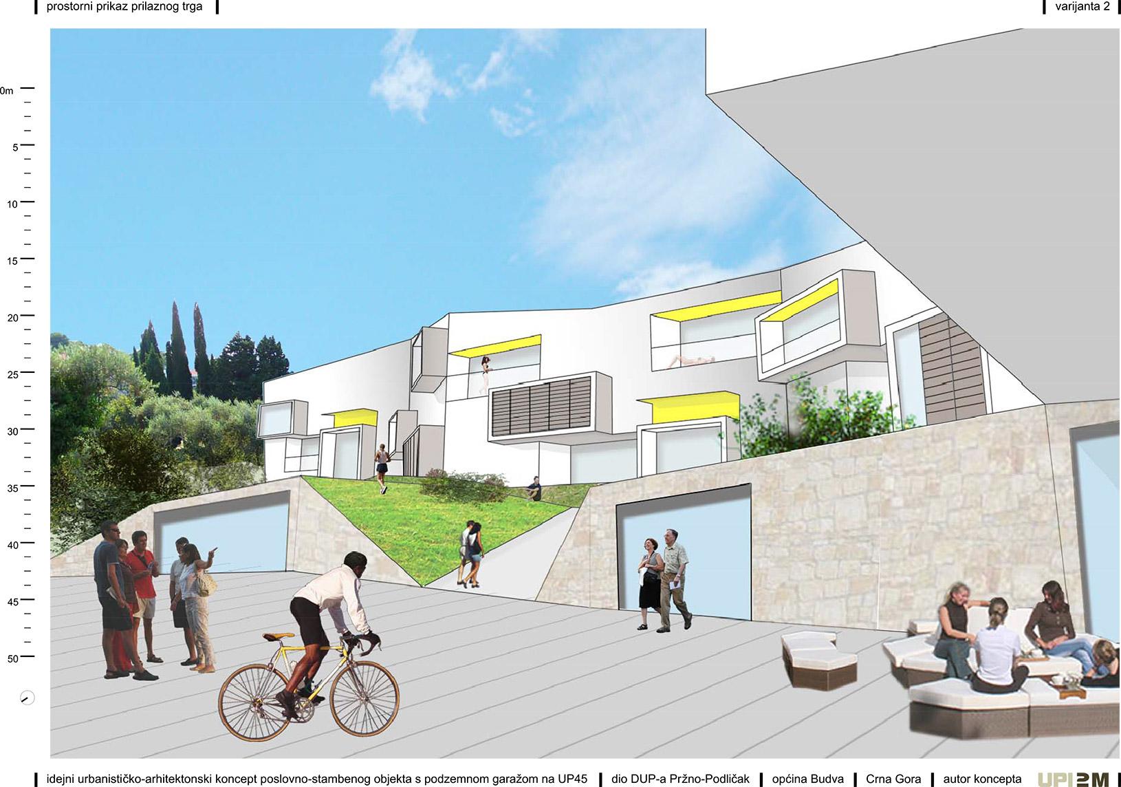 pržno-podličak, budva, montenegro, crna gora, upi-2m, architecture, arhitektura