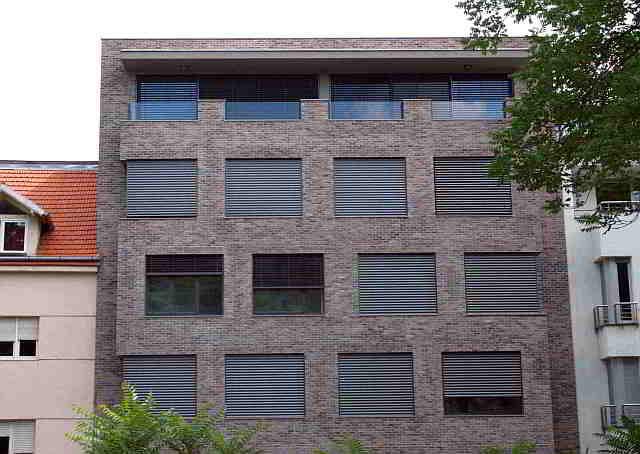 RESIDENTIAL BUILDING MEDVEDGRADSKA, zagreb, croatia, upi-2m