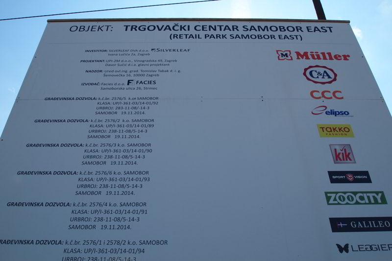 RETAIL PARK SAMOBOR east, samobor, hrvatska, croatia, upi-2m