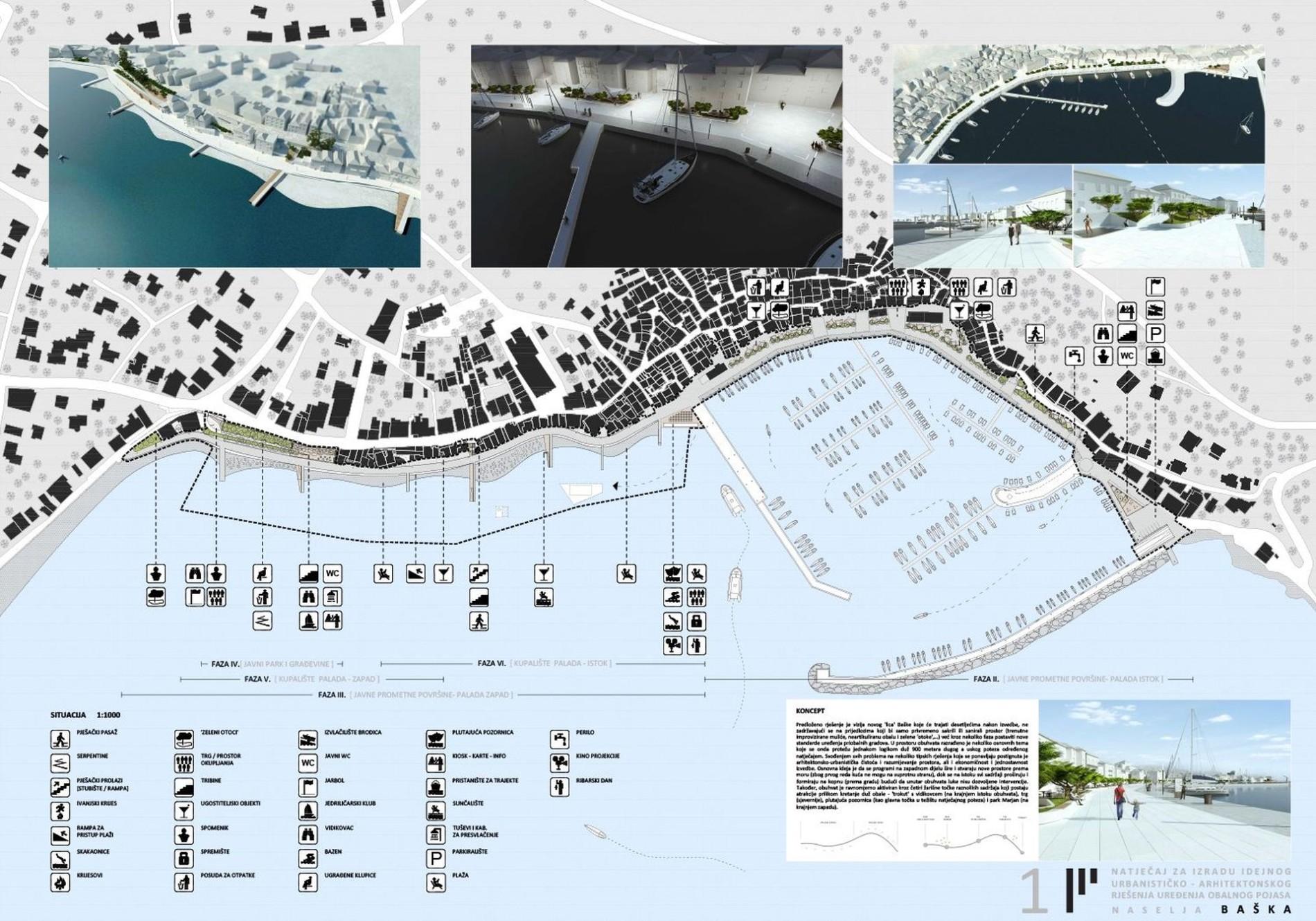 baška, krk, upi-2m, arhitektura, architecture, urban planning, urbanizam, hrvatska, croatia