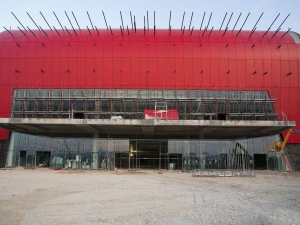 arena centar, arena, centar, upi-2m, upi2m, zagreb, lanište, croatia, shopping mall, trgovački centar, čelik, konstrukcija, steel, structure, steel structure