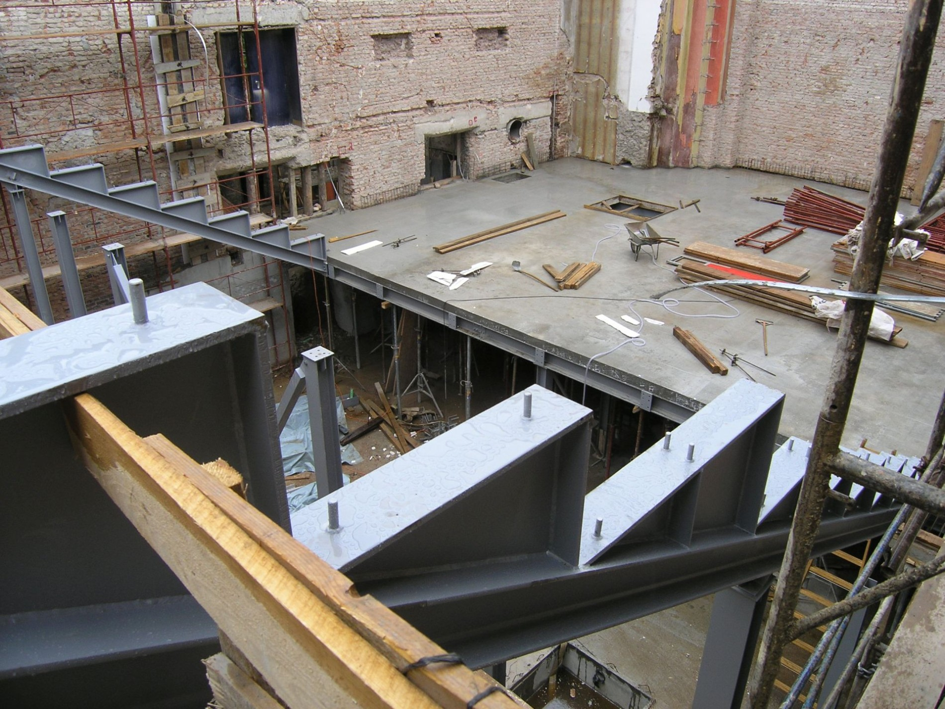 apolo, upi-2m, 3LHD, konstrukcija, structure, concrete, beton, upi2m