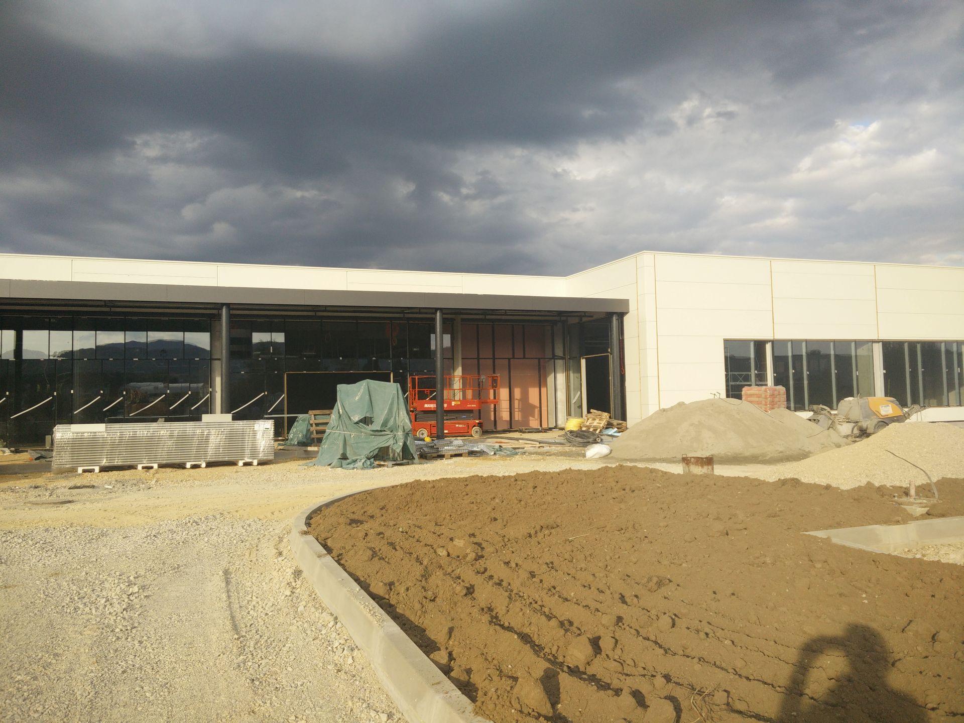 upi-2m, retail park samobor, retail park, trgovački centar samobor, retail samobor, samobor, konstrukcija, beton, concrete, structure,