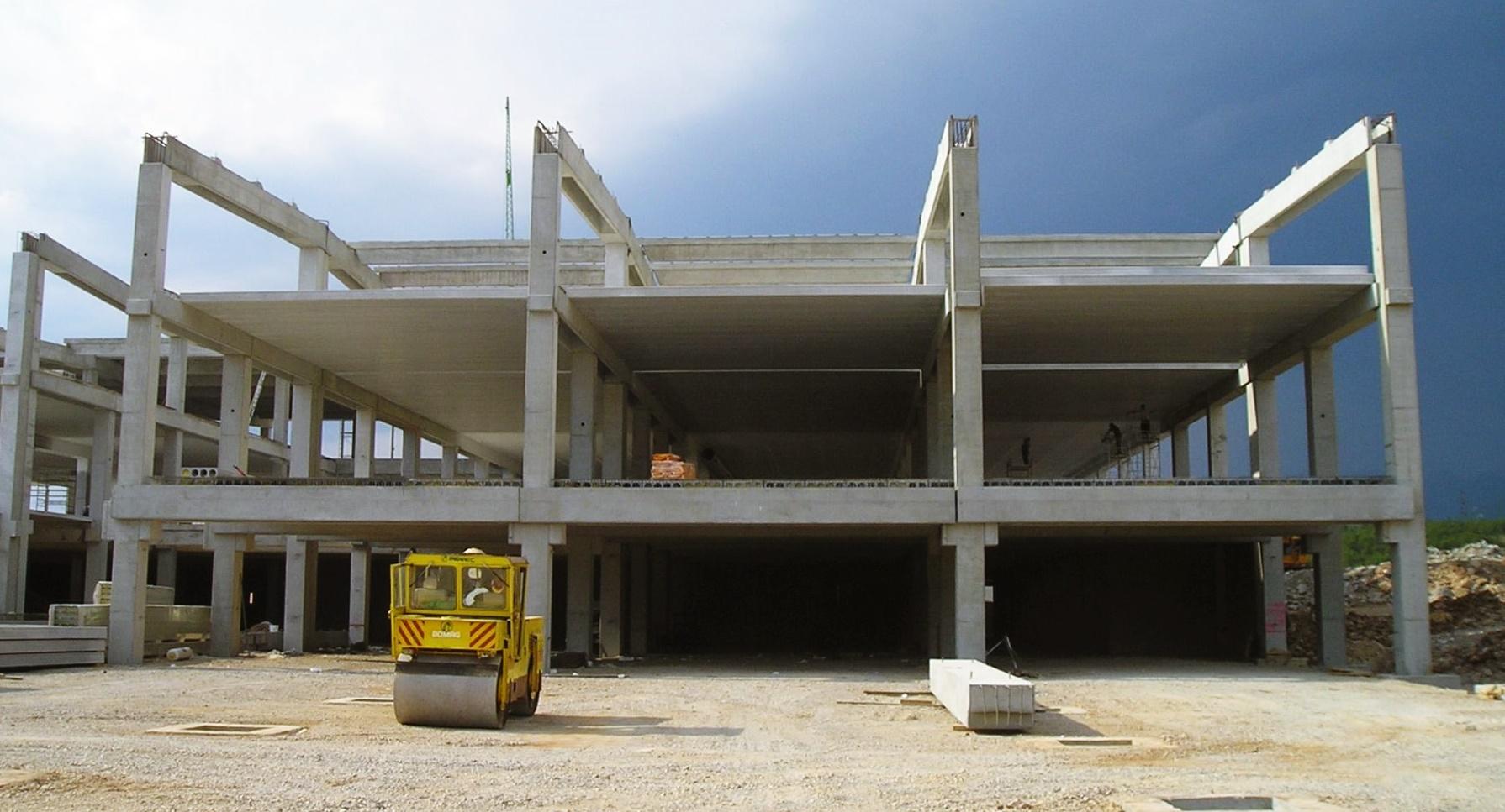 pevec, rijeka, pevec rijeka, pevec zagreb d.o.o., trgovački centar, centar, trgovina, konstrukcija, structure, retail, commercial center, concrete, beton, upi-2m, upi2m