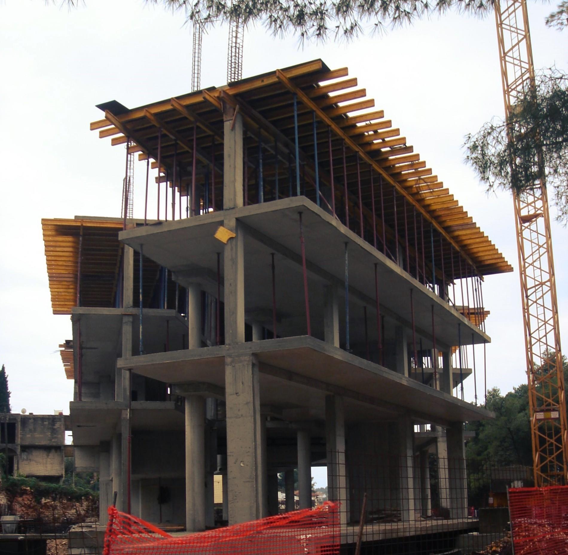 superdamacija, superdalmatia, upi-2m, njirić+ arhitekti, structure, konstrukcija