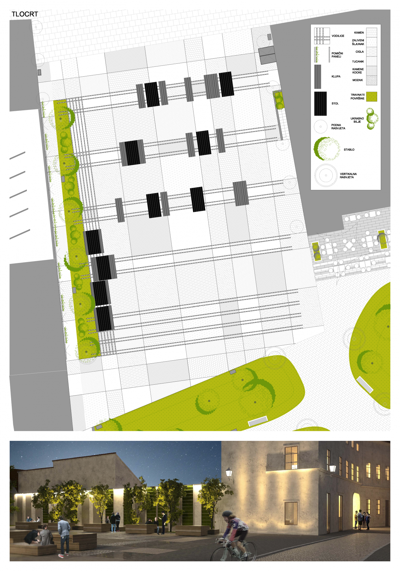 natječaj varaždin, varaždin, palača zakmardy, uređenje prostora, urbanizam, urban plan, habdelićeva, upi-2m, upi2m
