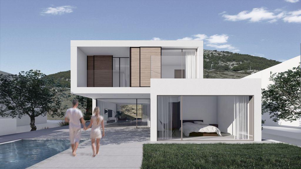 architecture, arhitektura, bol, brač, croatia, holidays vila, island brač, projekt, upi-2m, upi2m, vila, vile, vile bol, villa, villas